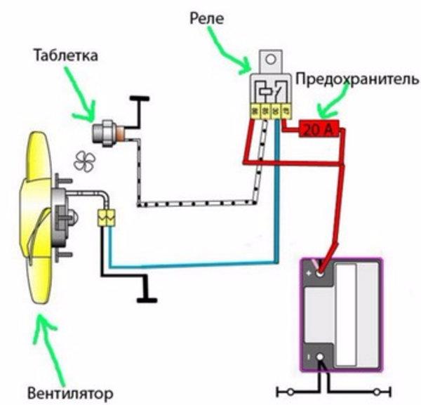 Как подключить звуковой сигнал через реле?