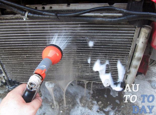 Помыть радиатор своими руками