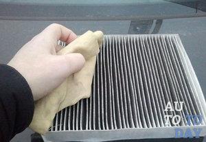 Очистка воздушного фильтра