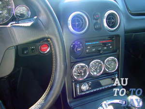 Кнопка стартера в авто
