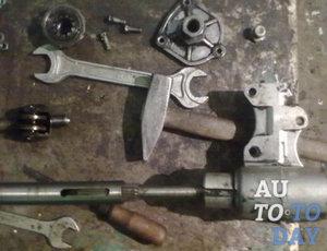Инструменты для замены рулевого редуктора