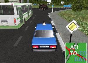 Игры для обучения вождения