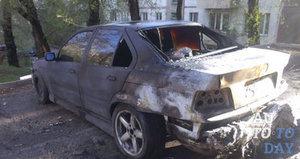 Авто после пожара