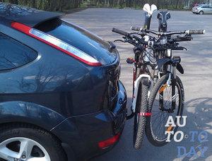 Велосипеды на фаркопе