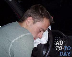 Сон за рулем