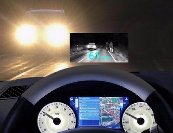 Автомобильные приборы ночного видения