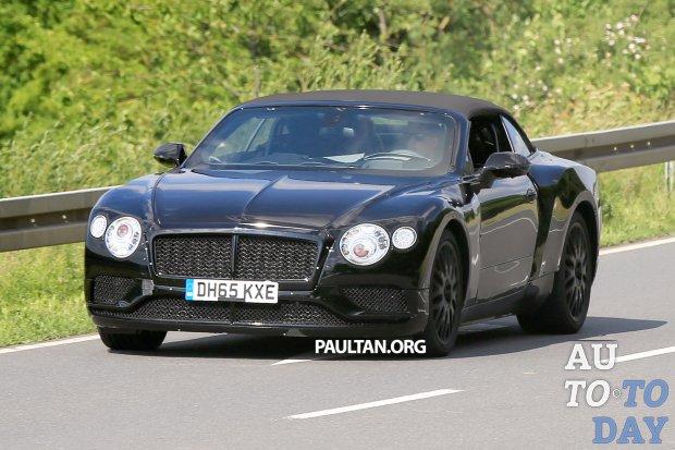 Таинственный суперкар от Bentley словили фотошпионы