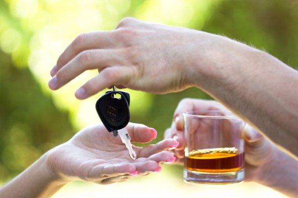 Передача тс лицу в состоянии алкогольного опьянения