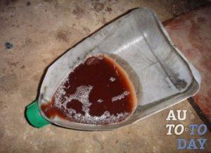 Вода в моторном масле
