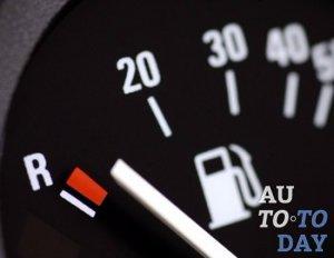 Показатель расхода бензина