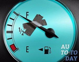 Показатель уровня топлива
