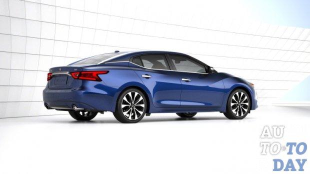 Компания Ниссан показала свою новейшую модель Maxima 2018 года выпуска