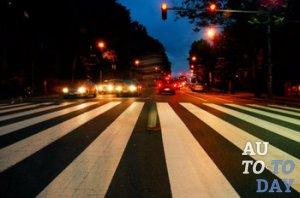 Наезд на пешеходном переходе