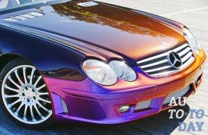 Как покрасить автомобиль в цвет хамелеон?