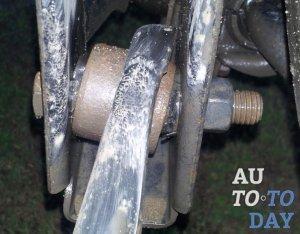 Замена сайлентблока верхнего рычага мондео 2 Замена переднего тормозного цилиндра тойота 150