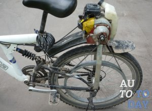 Бензопила для велосипеда своими руками 606