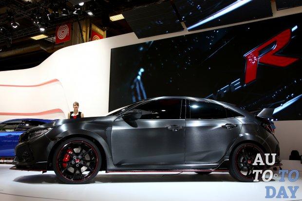 Хонда Civic Type Rдебютирует на автомобильном салоне вЖеневе