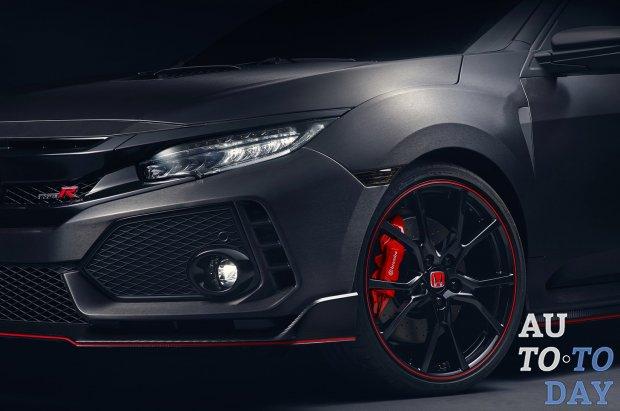 Хонда покажет «заряженный» Civic Type R