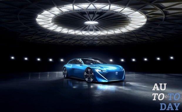 Первые изображения модели Peugeot Instinct Concept появились в интернете