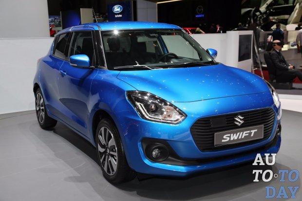 Новый Сузуки Swift поступит в реализацию на рынок автомобилей РФв2018 году