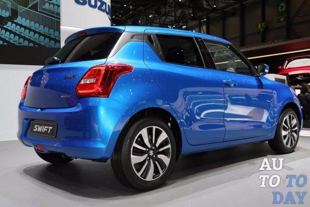 Сузуки представил новый Swift для Европы— Женевский автосалон
