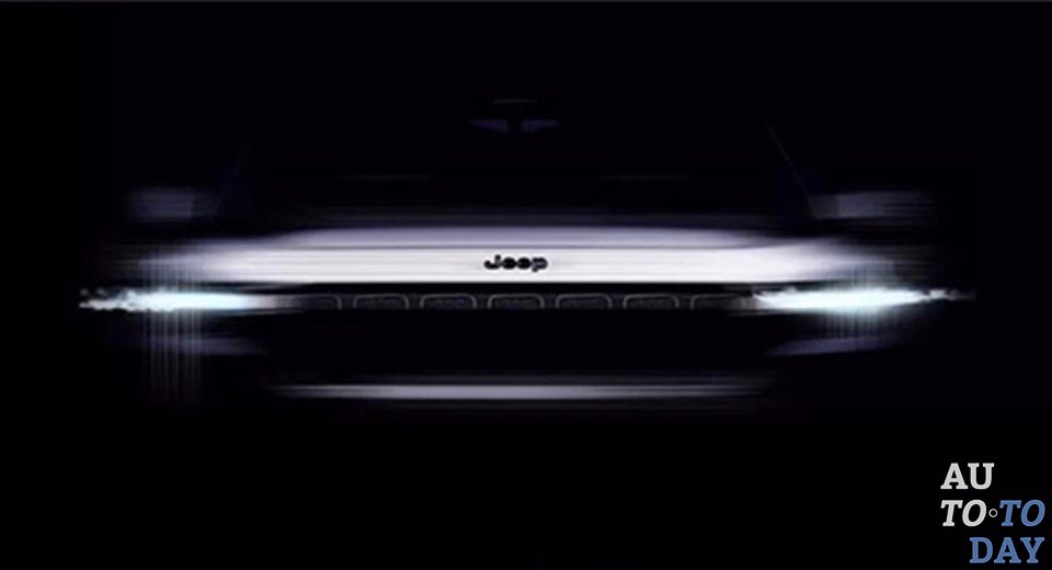 Jeep покажет в Шанхае первый гибридный концепт (ФОТО)