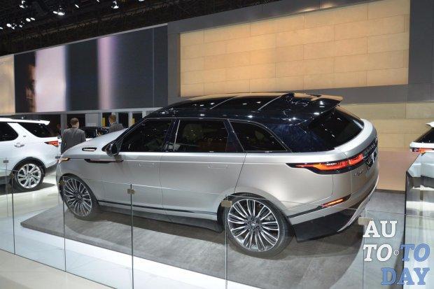 Range Rover Velar прорекламировала известная эстрадная певица