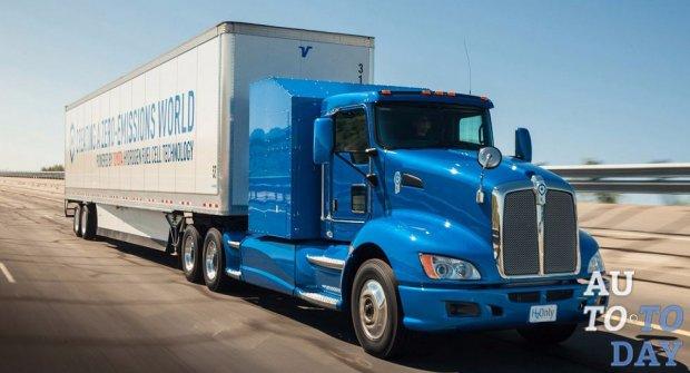 Тойота обогнал Tesla, показав собственный водородный грузовой автомобиль