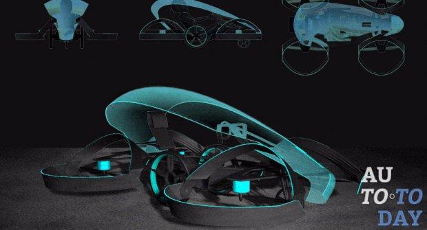Toyota готовится создать летающий автомобиль