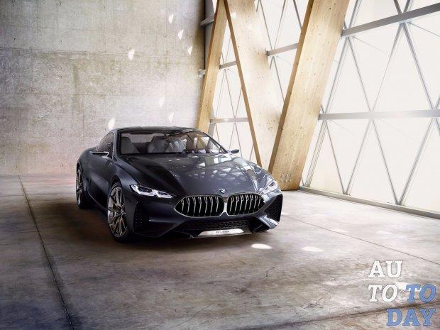 БМВ рассекретила концептуальный автомобиль 8 Series