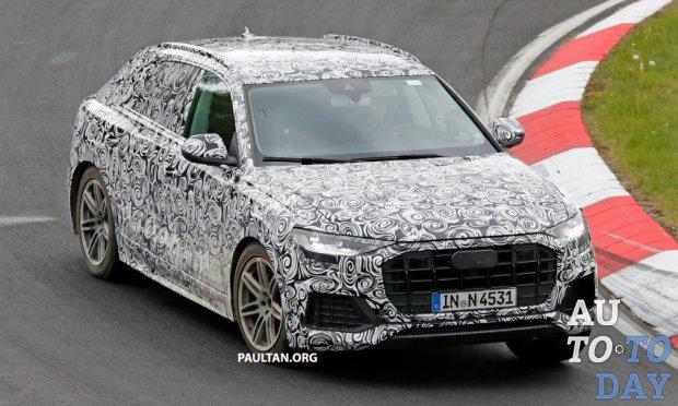 Audi Q8  обзор