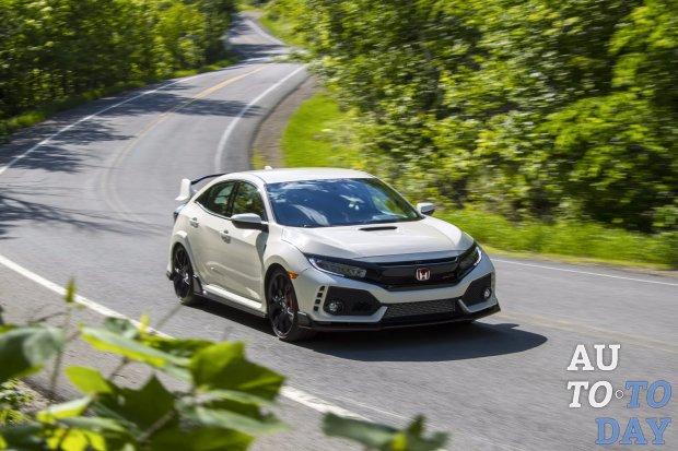 Хэтчбек Honda Civic Type Rсполным приводом готовится кдебюту