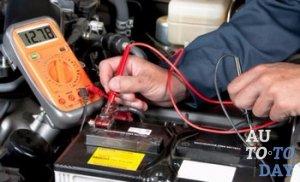Процес зарядки автоаккумулятора
