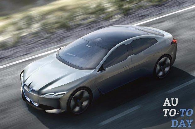 BMW представила электрокар с запасом хода 600 км