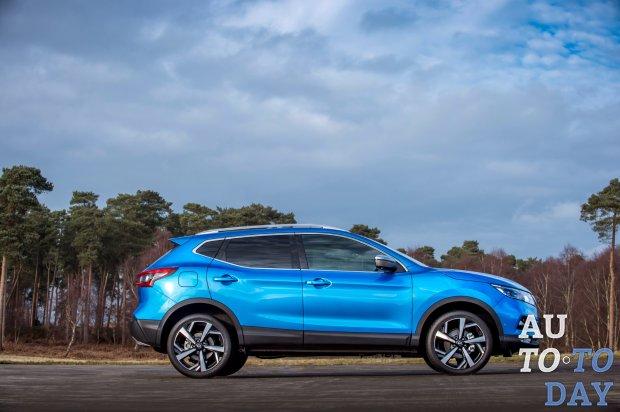 Ниссан Qashqai стал лидером продаж вевропейских странах всегменте SUV