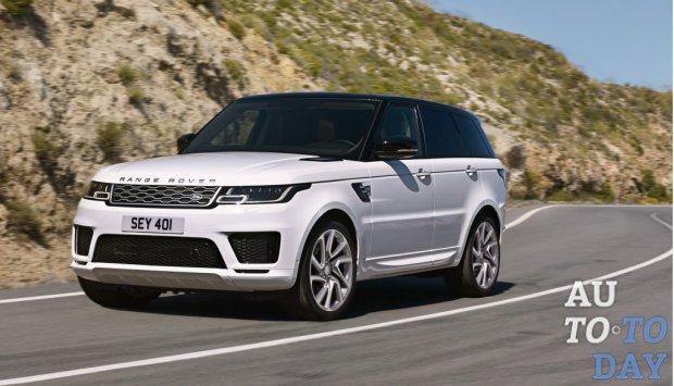 Названы русские  цены накроссовер Range Rover Sport