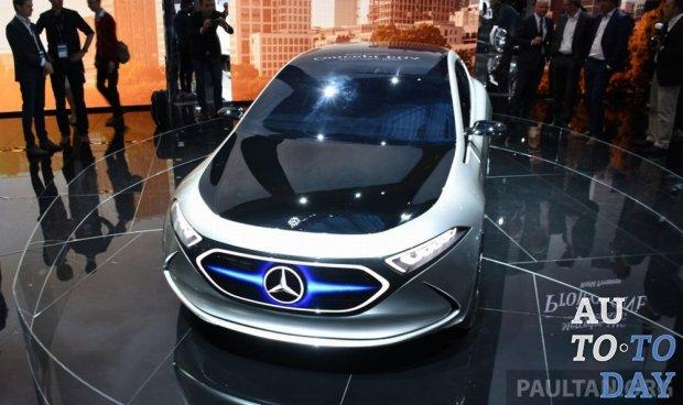 Mercedes-Benz выпустит 10 новых электромобилей к 2022 году