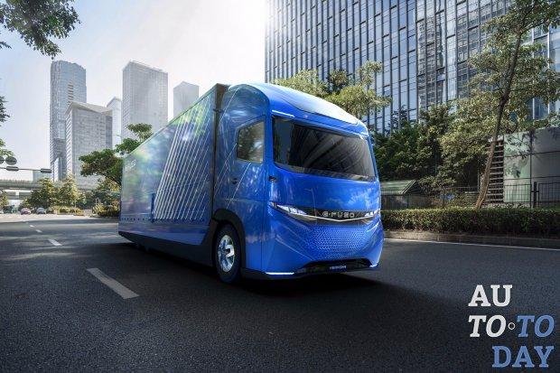 «Дочка» Daimler представила электрогрузовик ранее доэтого Tesla