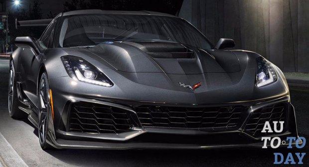 На автомобильном салоне вДубае представлен новый Шевроле Corvette ZR1