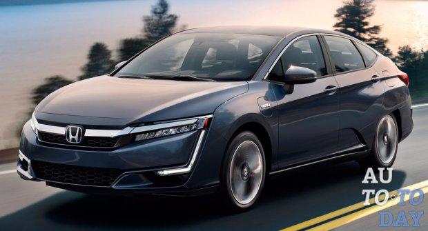 Хонда Clarity Plug-in Hybrid, гибридный седан, оценен в $33 тысячи