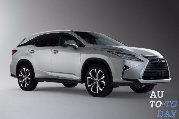 ВЯпонии стартовали продажи удлиненного Лексус  RX