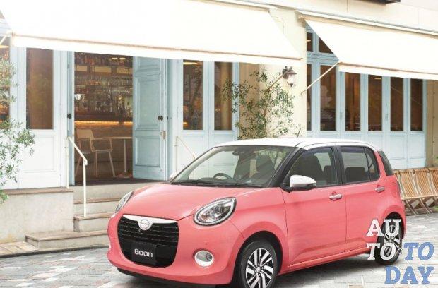 Настоящий женский автомобиль: Daihatsu Boon показан в новой версии Style