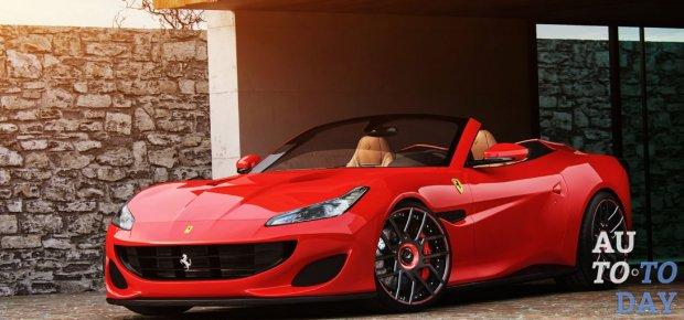 Ателье Wheelsandmore настаивает Ferrari Portofino