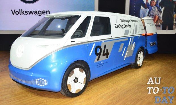 Автосалон в Лос-Анджелесе: VW I.D. Buzz Cargo будет запущен в 2022 году