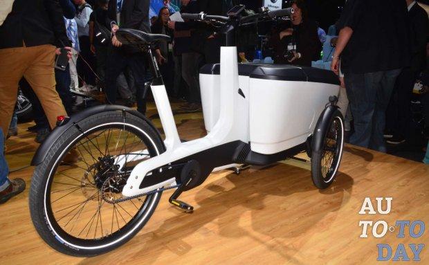 Автосалон в Лос-Анджелесе: VW Cargo e-Bike облегчает доставку товаров