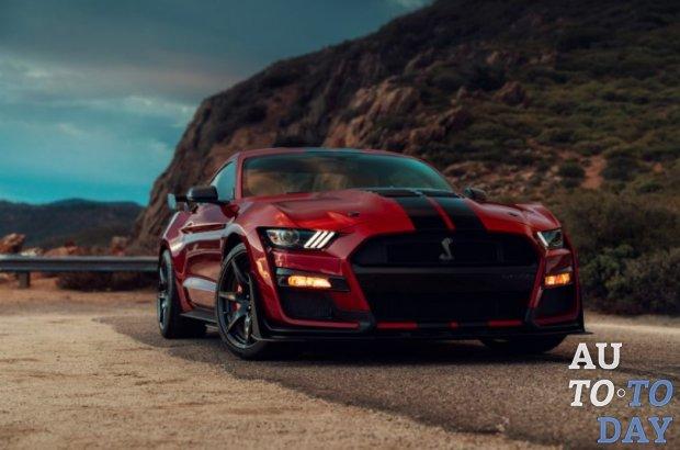 Ford представляет самый мощный Mustang Shelby GT500