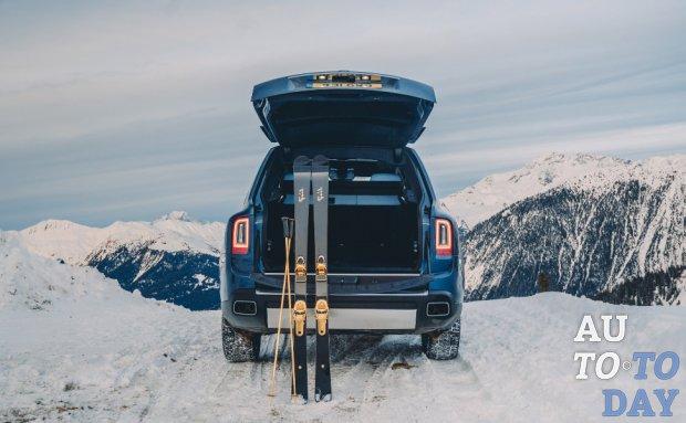 Rolls-Royce отправляет Cullinan во французские Альпы