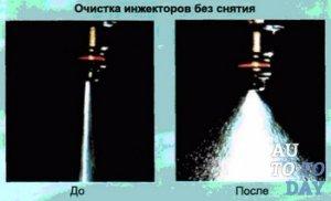 Очистка инжектора