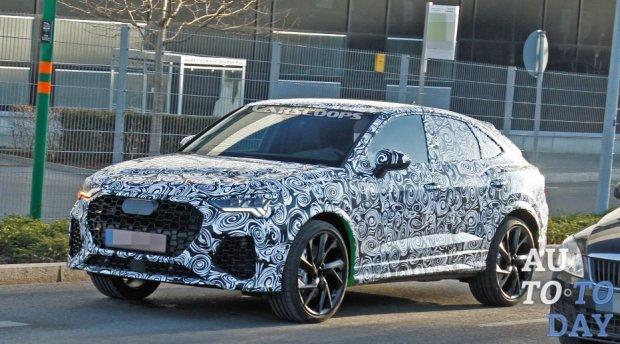 Новый Audi RS Q4 может приехать в Женеву