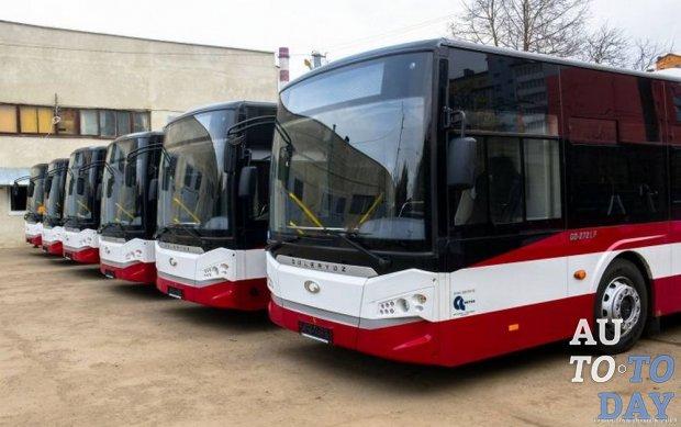 Ивано-Франковск получил партию из 12 современных турецких автобусов Guleryur